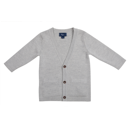 Clancy Merino Wool Cardigan