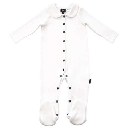 Organic Baby Clothes Tolly Luxe Organic Bodysuit Pappe Australia