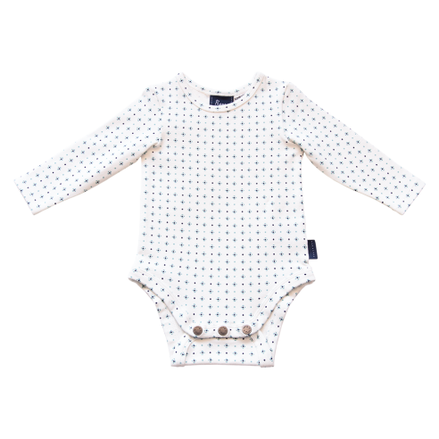 Nimmy Luxe Organic Bodysuit – Long Sleeve