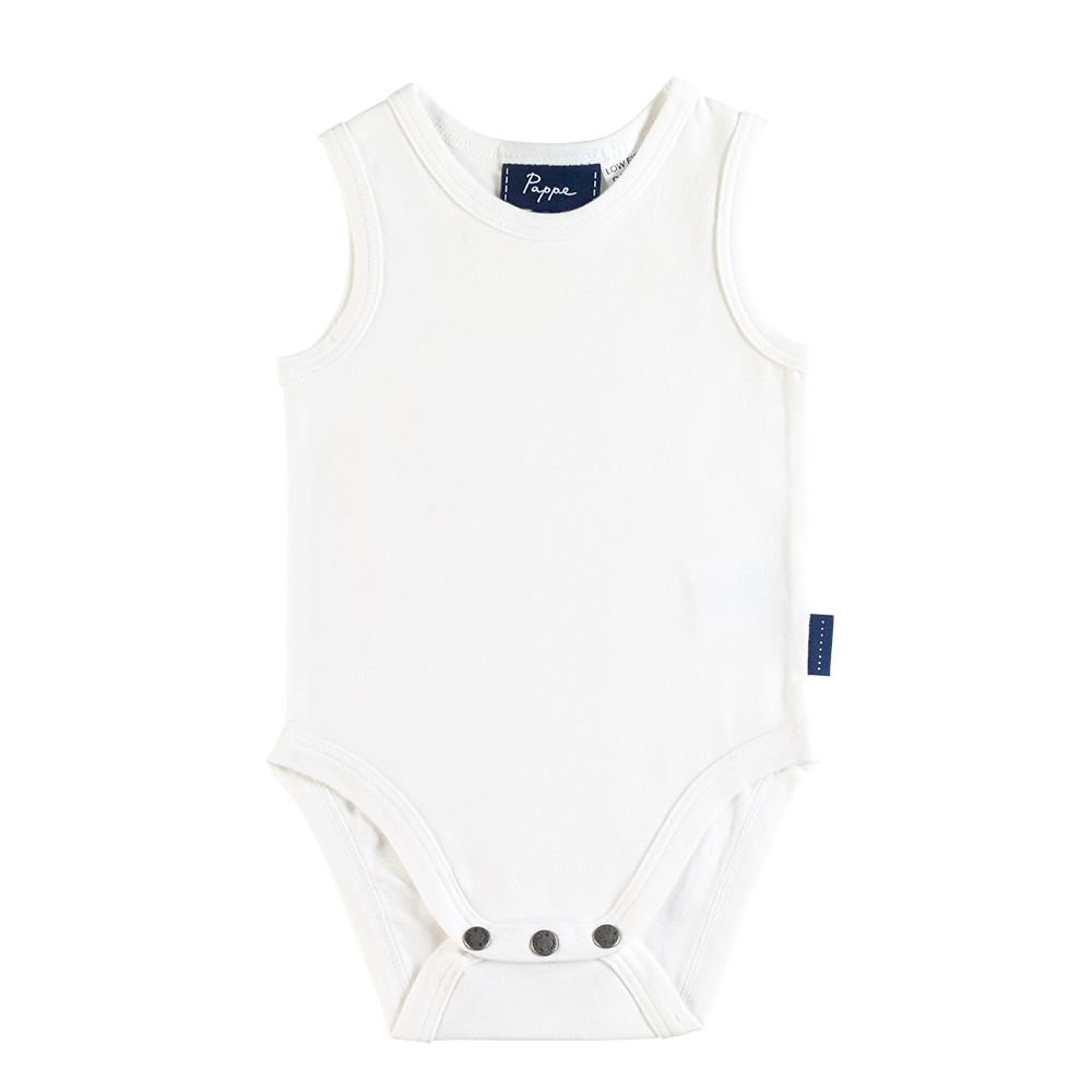Nimmy Luxe Organic Bodysuit - Sleeveless