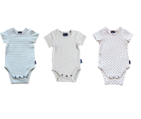 3 Pack Short Sleeve Onesie - Customer Choice
