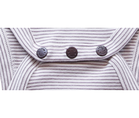 Nimmy Luxe Organic Bodysuit – Short Sleeve