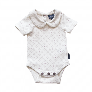 Bowhill Luxe Organic Bodysuit - Short Sleeve