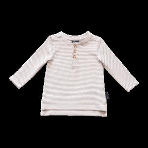 Croft Organic Henley T-Shirt – Long Sleeve