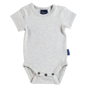 Nimmy Luxe Organic Bodysuit - Short Sleeve