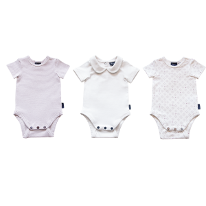 3 Pack Bodysuit - Elderberry