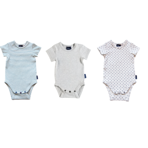 3 Pack Short Sleeve Onesie - Customer Choice