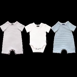 3 Pack Bodysuit - White