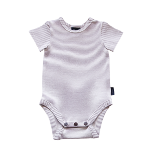 Nimmy Luxe Organic Bodysuit – Short Sleeve