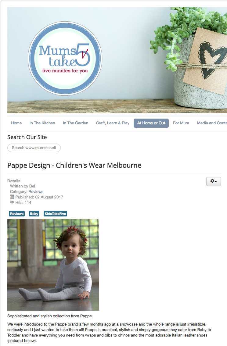 Press | Pappe Australia
